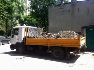 Transport autobasculanta